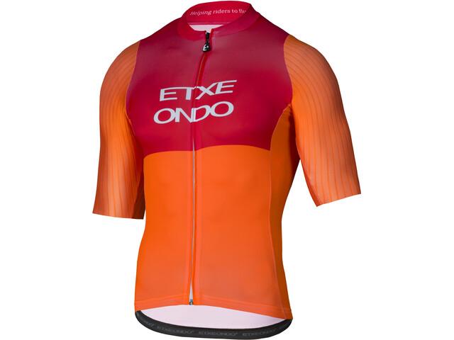 Etxeondo On Aero SS Jersey Herre orange-red